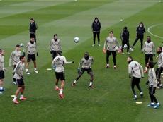 Volverán los entrenamientos con un único grupo. EFE