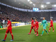 El Bayern apabulla en el partido de la vergüenza. EFE