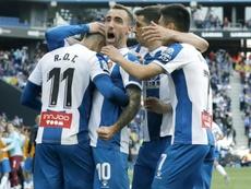 El Espanyol tiene once jornadas de infarto por delante si vuelve el fútbol. EFE