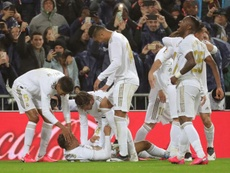 Le Real Madrid va jouer deux matches sans public. EFE