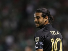 Carlos Vela é uma estrela nos EUA, mas nunca brilhou em grandes clubes. EFE/Gustavo Becerra/Arquivo