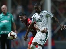 Palmeiras paga de momento a sus jugadores. EFE
