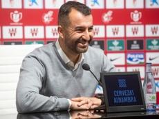 Diego Martínez quiere seguir haciendo historia con el Granada. EFE/Miguel Ángel Molina