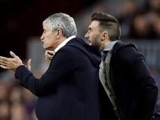 Le Barça apporte son soutien à Sarabia mais lui demande d'être plus discret. EFE