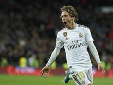 El Madrid se quedará con Modric hasta 2021. AFP