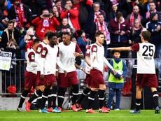 El Bayern venció. EFE