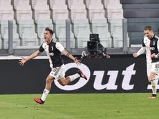 Juventus won 2-0. EFE