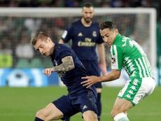 Kroos a évoqué le placement en quarantaine des joueurs du Real. EFE