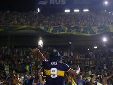La AFA filtró que los cinco que juegan Libertadores volverán el lunes. EFE
