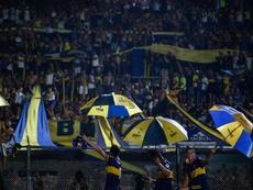 Boca fue sancionado por la CONMEBOL. EFE