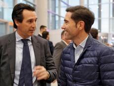 Emery y Marcelino, candidatos al banquillo del Fenerbahçe. EFE/Manuel Bruque