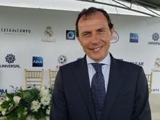 Butragueño descartó la salida de Jovic. EFE