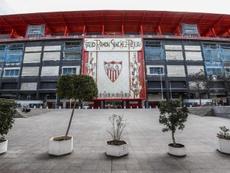 Sevilla v Roma at the Sanchez Pizjuan is off due to the coronavirus. EFE