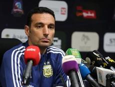 Com algumas novidades Scaloni convoca a Argentina. EFE