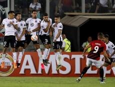 La CONMEBOL sanciona a Colo Colo por los incidentes ante Wilstermann. EFE