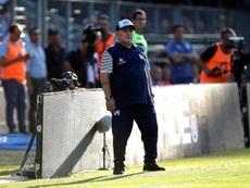 Maradona, confinado: tuvo contacto con un posible positivo. EFE