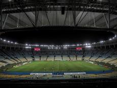 El día que el templo del fútbol brasileño quedó huérfano. EFE/Antonio Lacerda