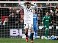 Valencia's Ezequiel Garay has been rumoured as a replacement. EFE
