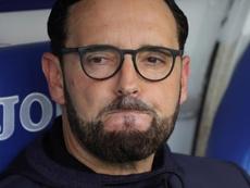 Bordalás lamentó el penalti de Molina y el fallo en el primer gol. EFE/Juanjo Martin/Archivo