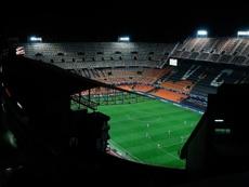 El Valencia no venderá la parcela de Mestalla. EFE/Manuel Bruque