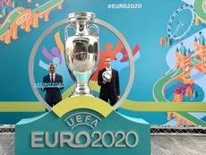 UEFA tem intenção de manter os locais e as datas programadas para este ano. EFE/EPA/Arquivo