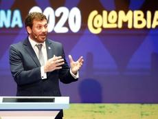 La CONMEBOL prioriza la salud al juego. EFE