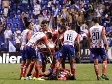 Atlético San Luis igualó con Atlas. EFE
