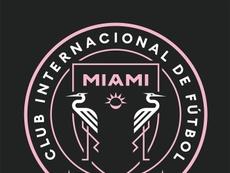 L'Inter Miami change son logo pour sensibiliser sur les gestes barrières. EFE