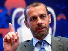 Ceferin rivela i tre piani dell'UEFA. EFE