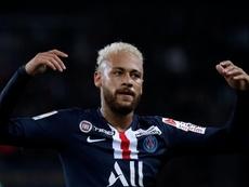 Neymar tuvo un gran gesto. EFE