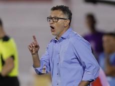 Osorio negó tener ventaja por haber comenzado antes a entrenar. EFE