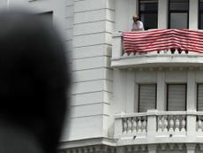 El alcalde de Bilbao pidió sacar las banderas. EFE
