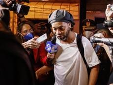 Ronaldinho si trova agli arresti domiciali. EFE