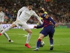 Néstor fala sobre Valverde.  EFE/JUANJO MARTIN
