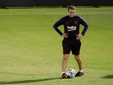Valverde could replace Villas-Boas at the end of the season. EFE