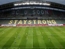 Los espectadores podrán volver al fútbol y al béisbol en Corea del Sur. EFE/Jeon Heon-kyun