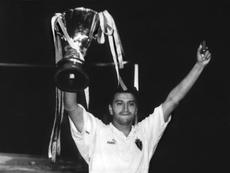 El Zaragoza derrotó al Arsenal y ganó la Recopa en 1995. EFE