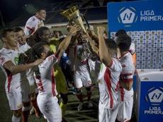 Real Estelí, campeón. EFE