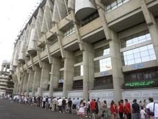 El Madrid anunciará estos días cómo compensará a sus socios por los partidos a puerta cerrada. EFE
