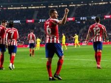 Koke es el cuarto jugador con más partidos de la historia del Atlético. EFE