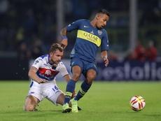 Sebastián Villa busca salir de Boca Juniors. EFE