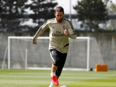 Ramos trabaja para reaparecer cuanto antes. EFE/Archivo