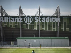 A Bundesliga austríaca também retorna. EFE/EPA/CHRISTIAN BRUNA