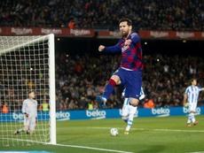 Iñaki Williams alabó a Leo Messi. EFE