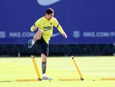 Vice-presidente do Newell's acredita na volta de Messi. EFE
