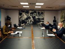 La propuesta de 24 clubes será analizada por la Comisión Delegada de LaLiga. EFE