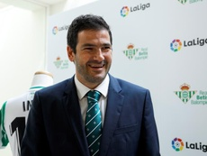 Ramón Alarcón analised the clubs finances. EFE