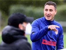 Giménez croit pouvoir gagner la Ligue des champions. afp