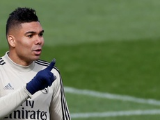 Casemiro had a message for everyone. EFE