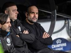 Guardiola tendrá a su lado al que fuera su maestro. EFE/Archivo